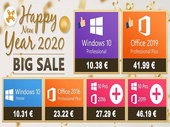 Bons plans de folie chez GoodOffer24 avec des licences Windows 10 à 10 euros !