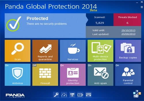 Panda Global Protection 2014 bêta